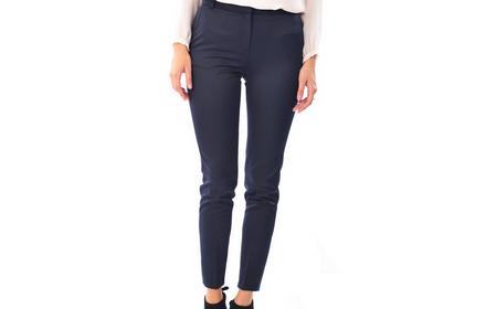 Pantaloni Pana Bleumarin P2714