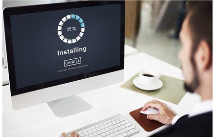 Instalare software