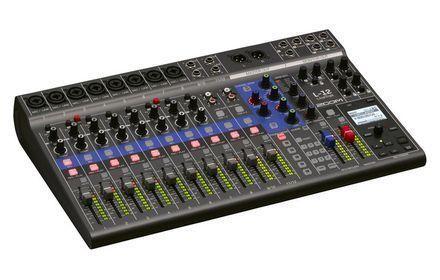 Zoom ZL12 LiveTrak L-12 Digital Mixer