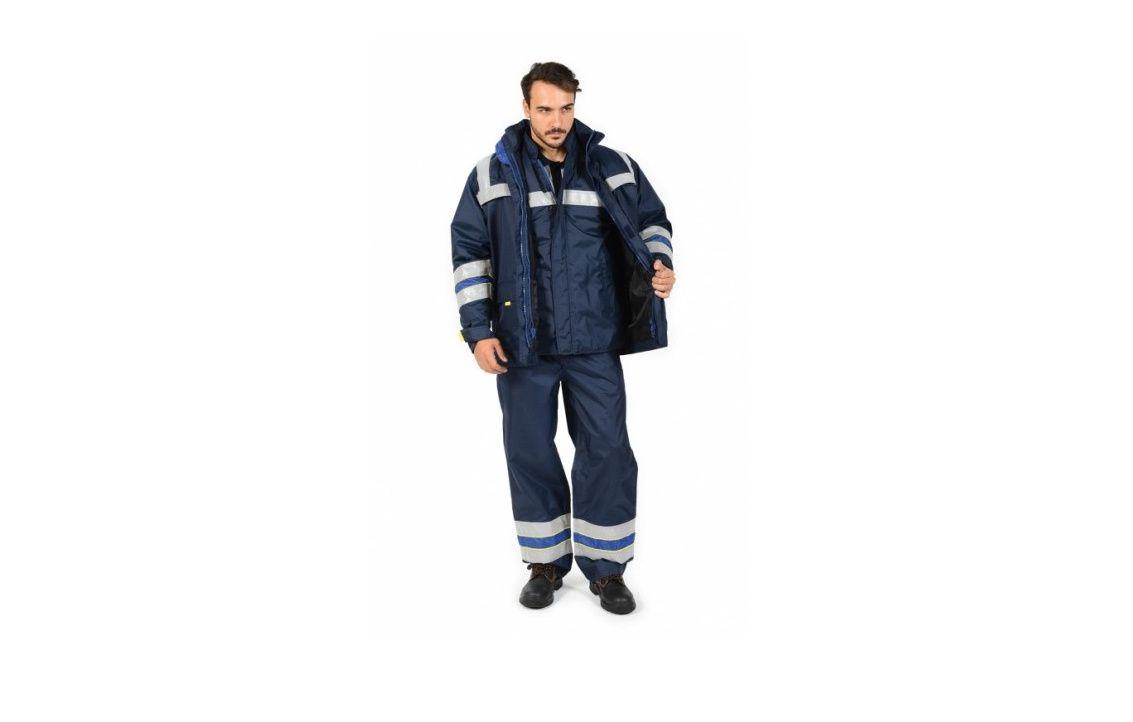 Jachetă 3 în 1 si pantalon talie