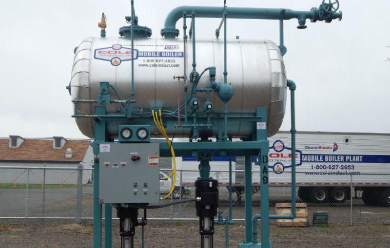 Rental Boiler Equipment Inventory