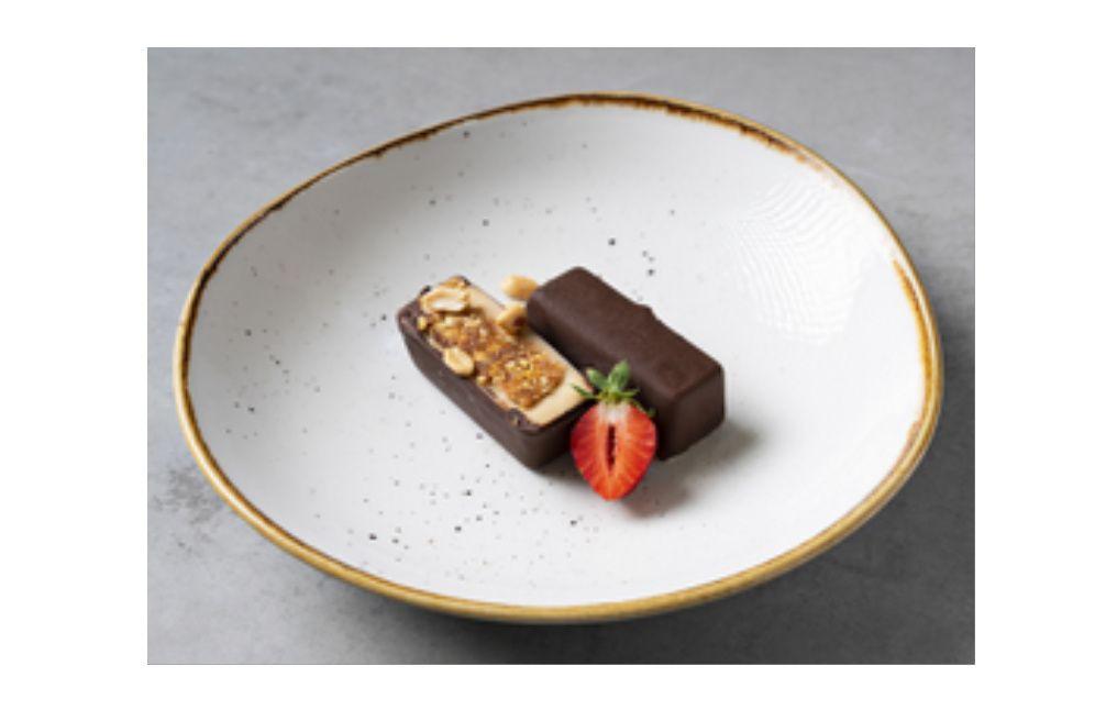 Baton de ciocolata cu unt de arahide