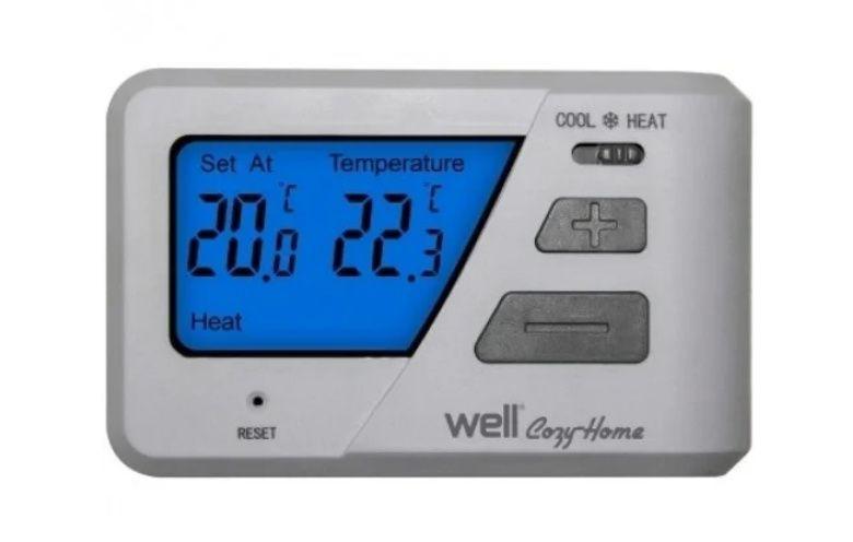 Termostat Electronic Cu Afisaj Digital Well
