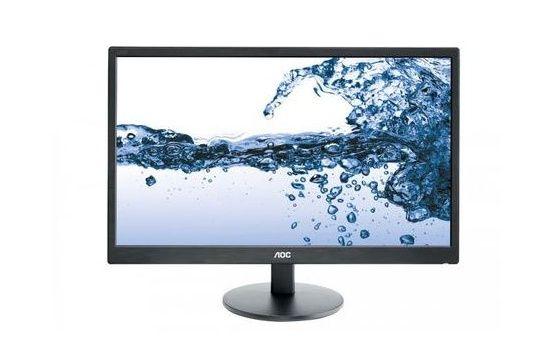 Monitor Led AOC E2270SWHN, 21.5 inch, Negru