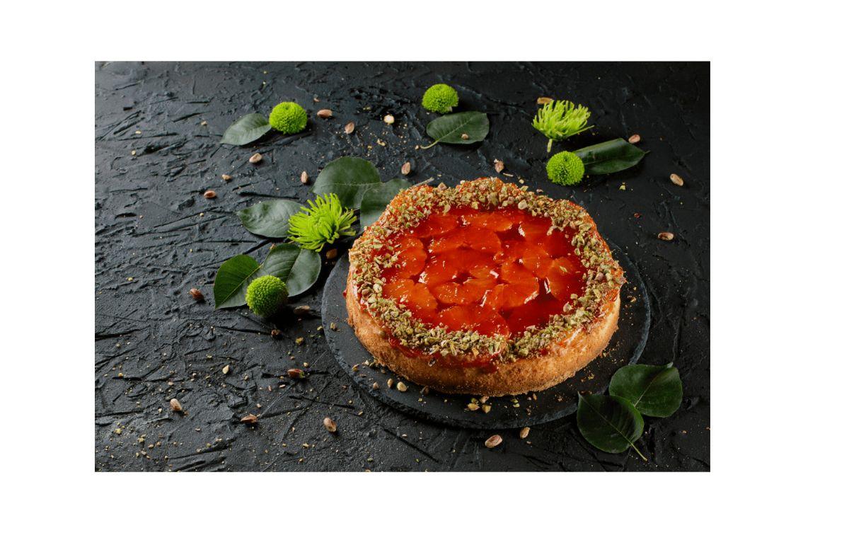 Cheesecake cu portocale și Ghimbir