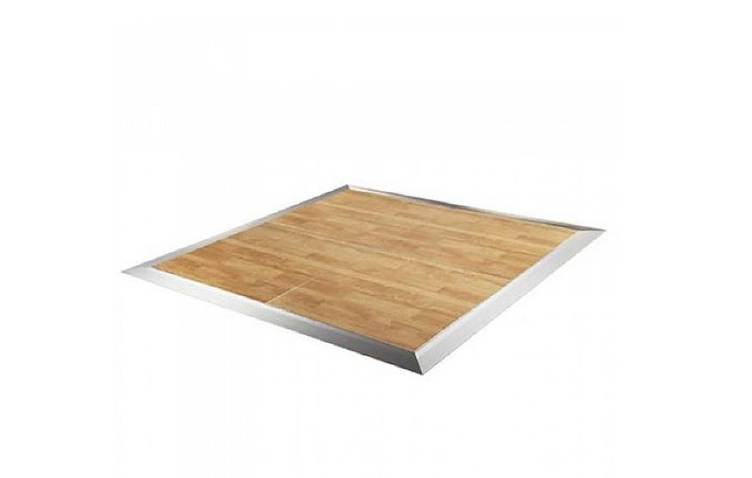 California Oak Dance Floor 4×4 – Installed