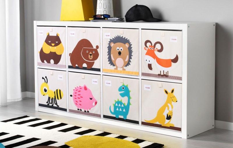 Folding Kids Storage Box