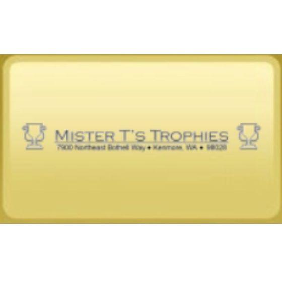 Mister T's Trophies