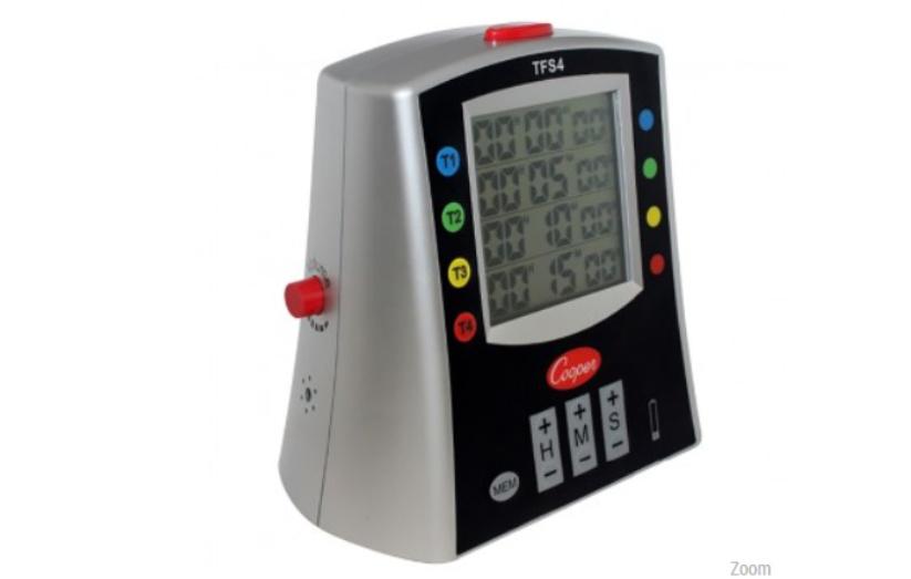 Cooper-Atkins TFS4-01 Multi-Station Digital Timer