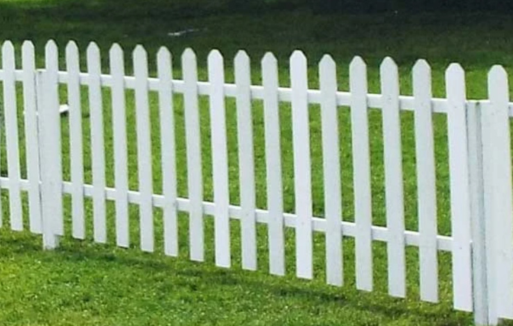 Picket Fence 4 ft tall