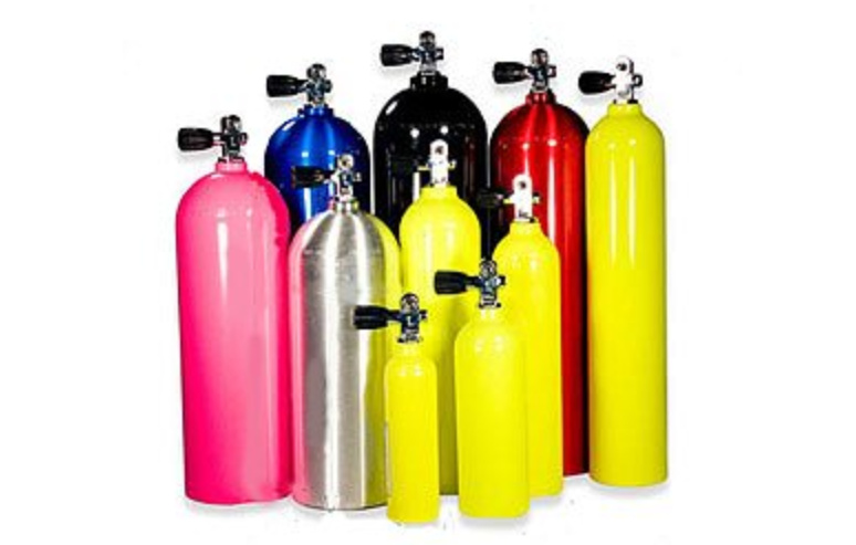 Bail-out Bottles, Tanks and Cylinders