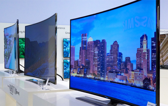 Flat Screen Tvs Including 4k And Curved