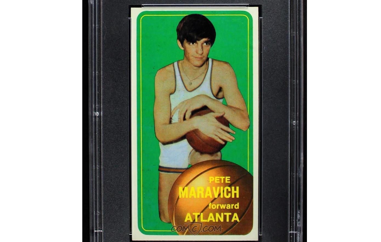 1970-71 Topps - [Base] #123 - Pete Maravich
