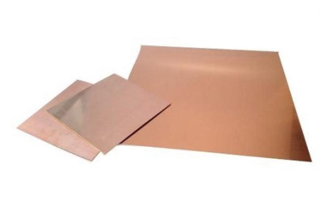 "Copper Sheets - 20 Gauge 6"" x 6"""