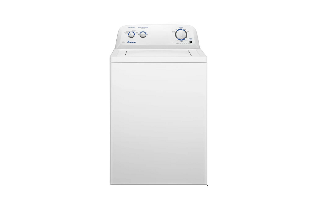 White Top-Load Washer