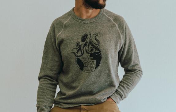 Octo-Globe Unisex Sweatshirt