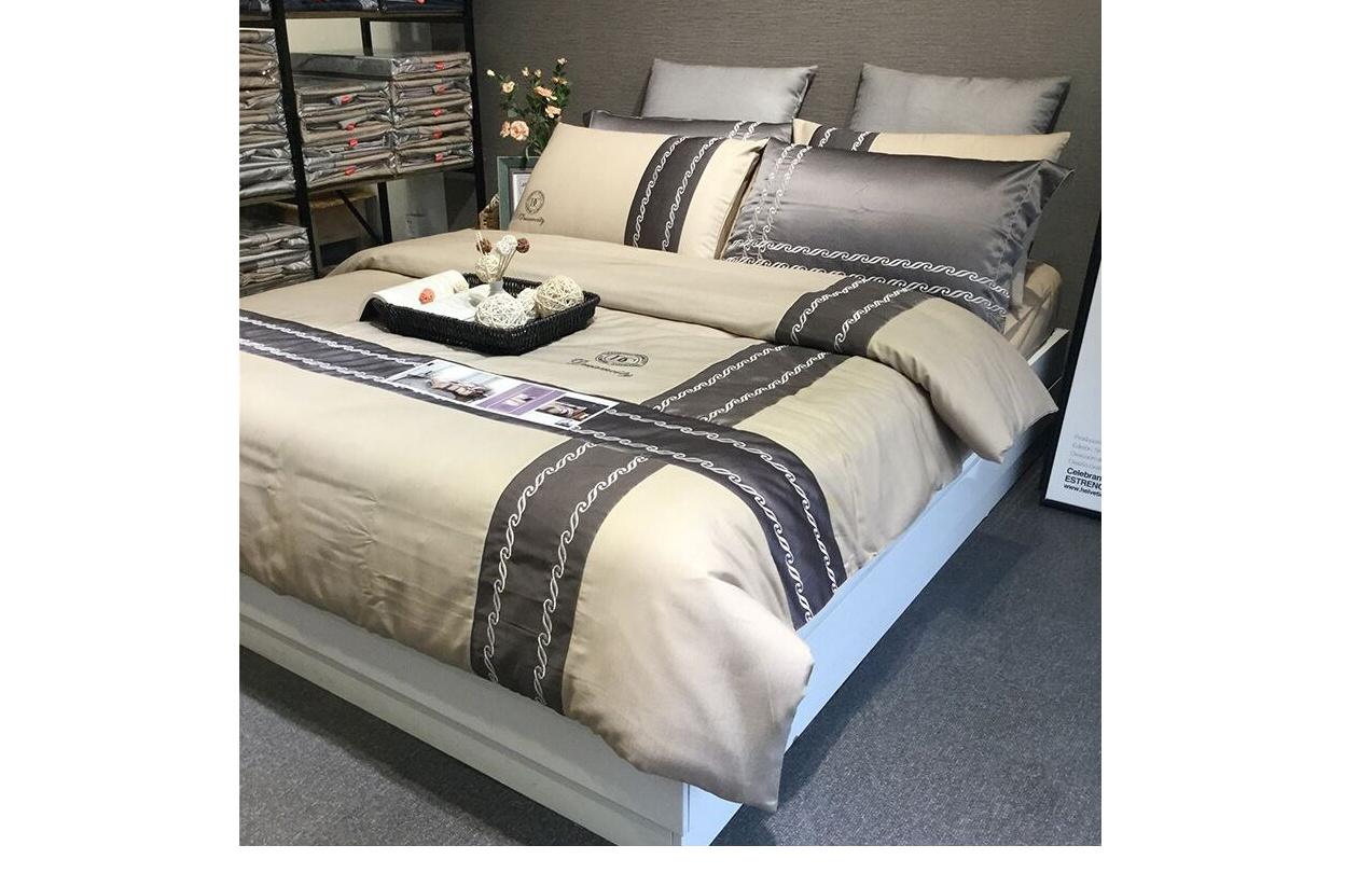 100% Cotton Winter Duvet Cover Flat Sheet Set