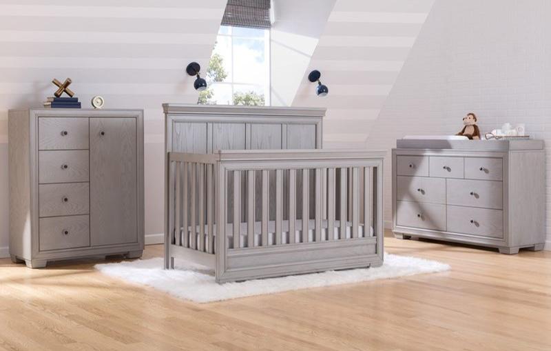 Ravello 6-Piece Nursery Furniture Set - Storm