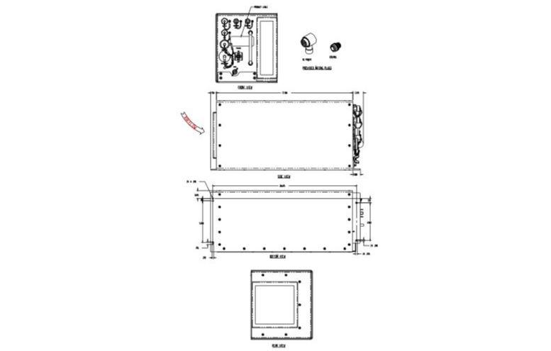 Kma4040 400 Watts, 30 - 40 Mhz, Amplifier Module