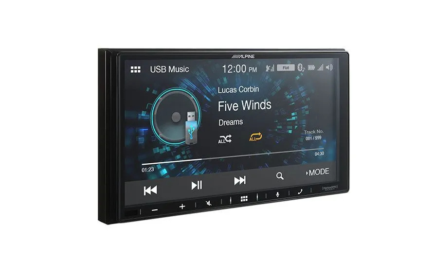 Alpine iLX-W650 7 Inch Media Receiver